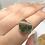 Thumbnail: Sterling Silver Turkish Rainforest Chrysocola Size 8