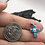 Thumbnail: Sterling Silver Lab Opal Pendant