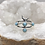 Thumbnail: Sterling Silver Larimar Ring Size 5.5