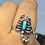 Thumbnail: Sterling silver Scorpion ring size 10