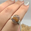 Thumbnail: Sterling Silver Super Seven Ring Size 8
