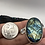 Thumbnail: Sterling Silver Carved Labradorite Pendant
