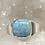 Thumbnail: Sterling Silver Larimar Ring Size 12