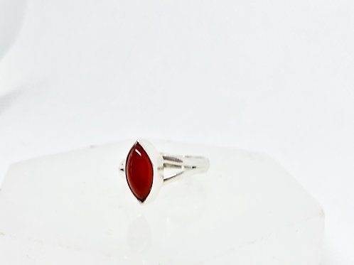 Carnelian ring size 8