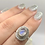 Thumbnail: Sterling Silver Moonstone Ring Size 7