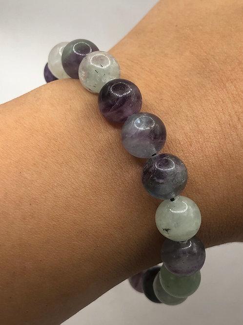 Fluorite Beaded Bracelet