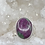 Thumbnail: Sterling Silver Ruby In Ziosite Ring Size 11
