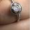 Thumbnail: Sterling Silver Moonstone Ring Size 5.5