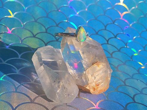 Ethiopian Opal ring size 9