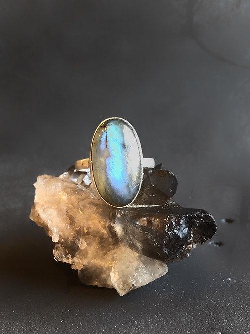 Labradorite ring size 8.5