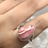 Thumbnail: Sterling Silver Rhodochrosite Ring Size 11