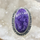 Thumbnail: Sterling Silver Charoite Ring Size 9