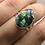 Thumbnail: Sterling Silver Ethiopian Opal In Quartz Ring Size 9