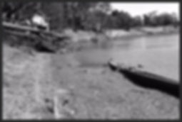 Wreck of the PS Canally at Boundary Bend
