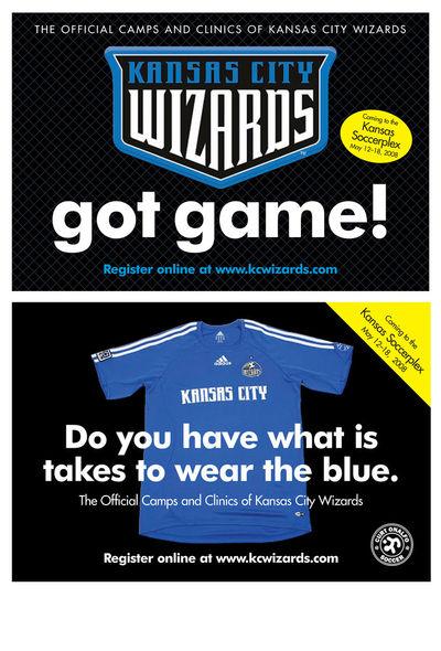 Kansas City Wizards Soccer Club Postcard Mailing