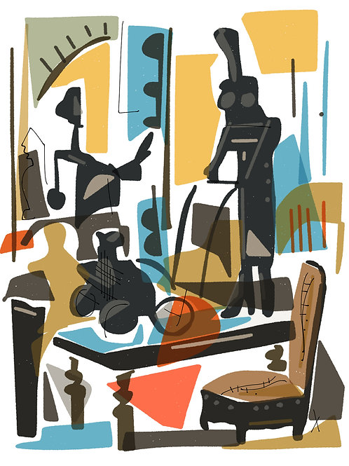 'Mother and Daughter' limited edition print - the Picasso Suite