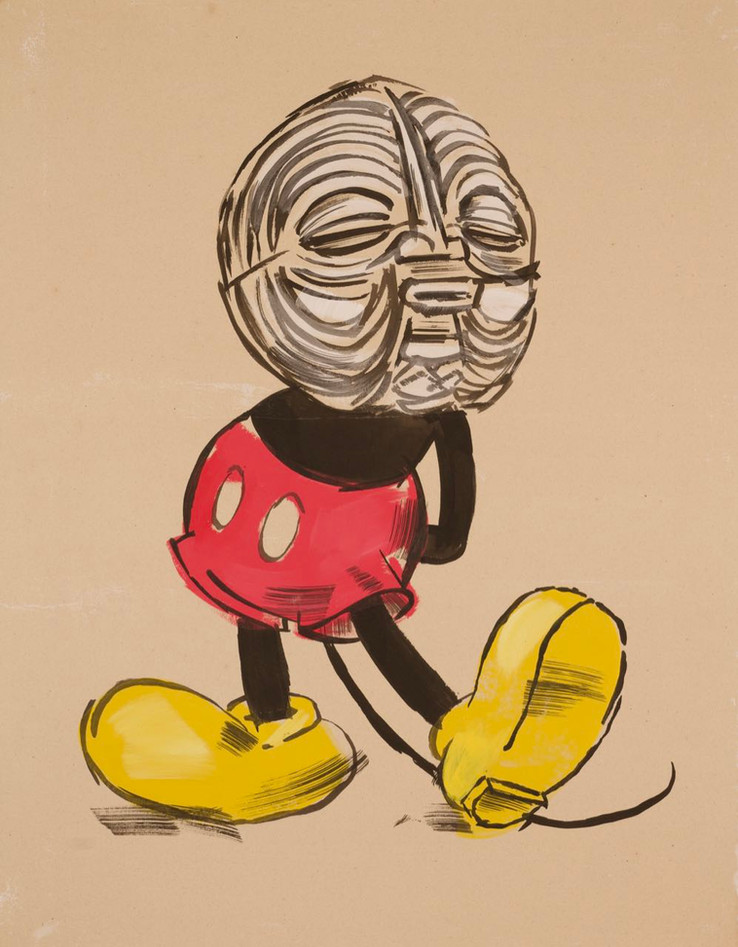 Mickey Wears Luba