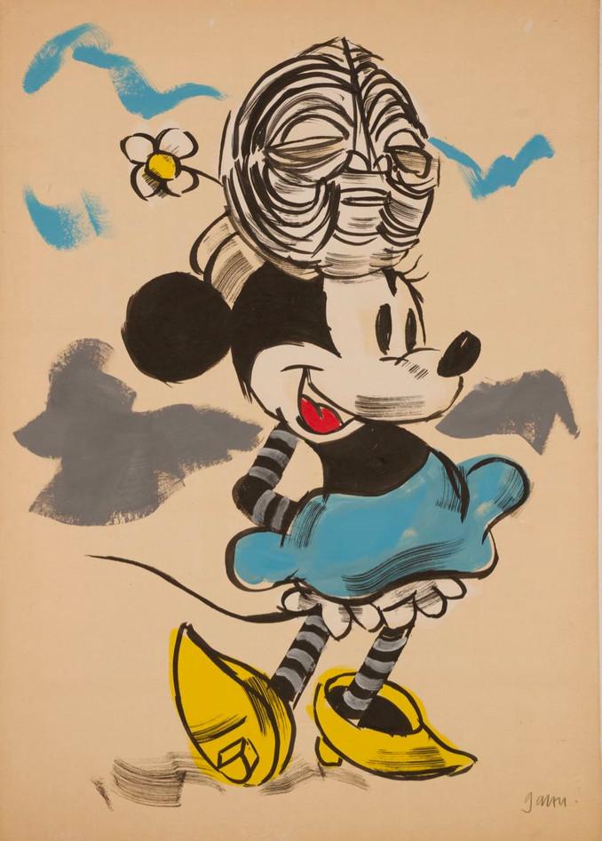 Minnie wears Luba