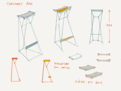 Apollo bar stool