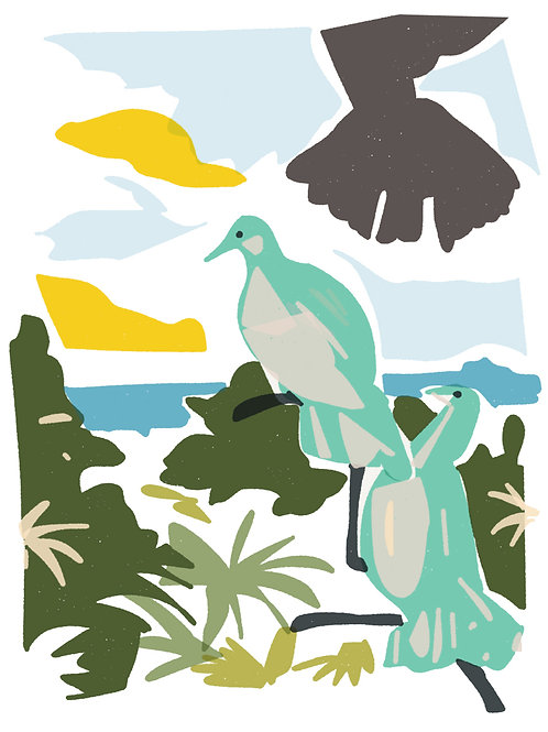'Picasso's Doves' limited edition print - the Picasso Suite