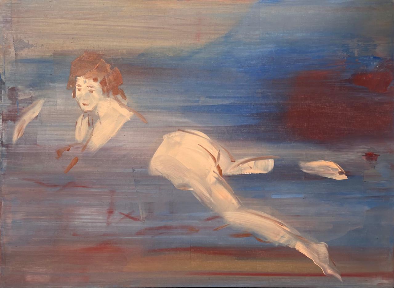 Blonde Odalisque after Boucher 73 x 100c