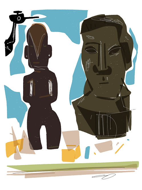 'Breakfast with Kanweiler' limited edition print - the Picasso Suite
