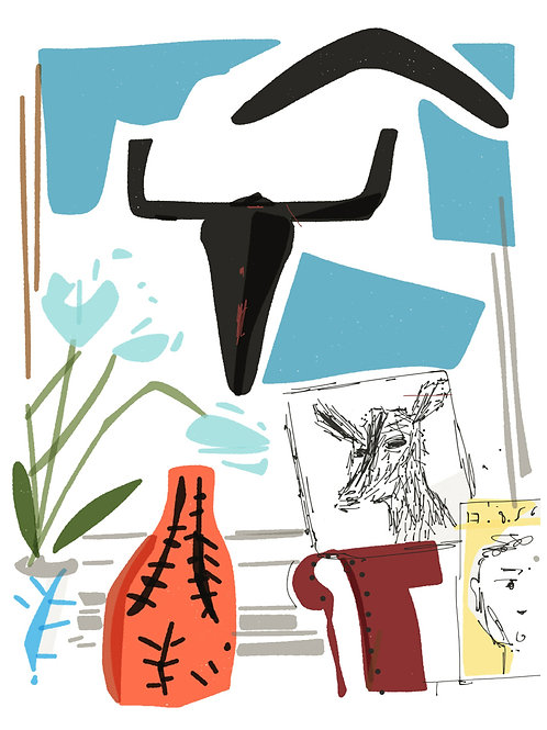 'The Bull' limited edition print - the Picasso Suite