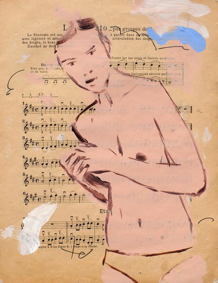 study on music score