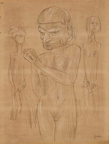 Nude with Mask III