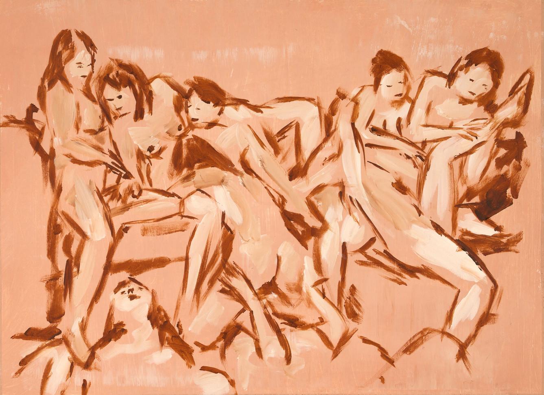 the orgy 45x61cm.jpg