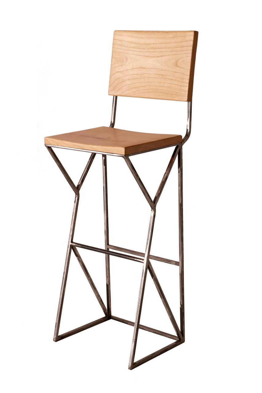 Apollo bar stool with back