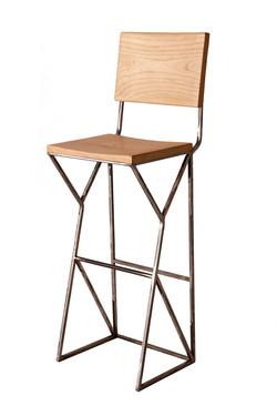 Apollo bar stool with back