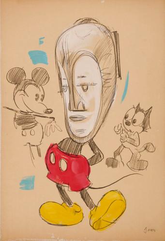 Mickey wears Fang