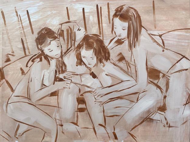 lovers 47 x 62 cm .jpeg