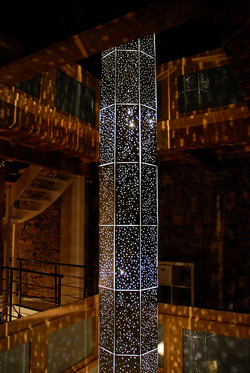 'Constellation' light sculpture