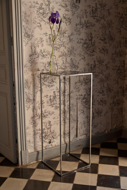 CUBI antique mirror table