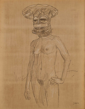 Nude with Mask I