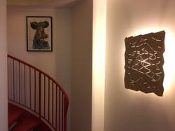 Constellation wall light