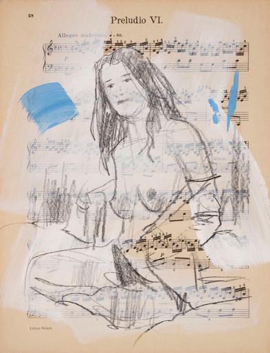 Mara - music score