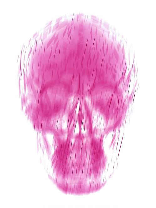 Memento Mori - limited edition Print 'nouveau pink'