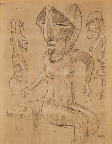 Nude with Mask II