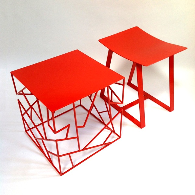 The Tachi Table and H Stool