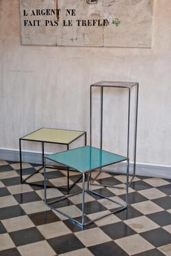 CUBI Coloured tables