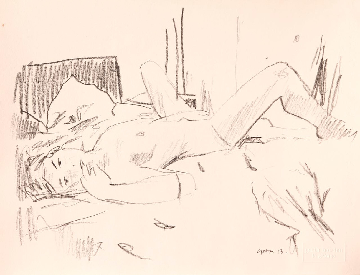 Bedroom nude