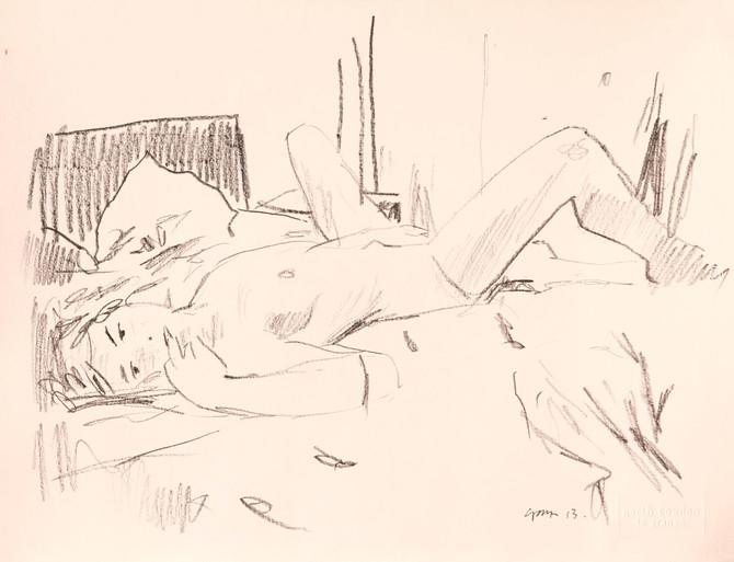 Bedroom nude