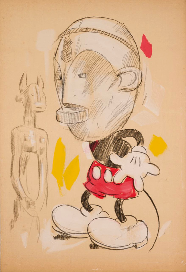 Mickey wears Dan II