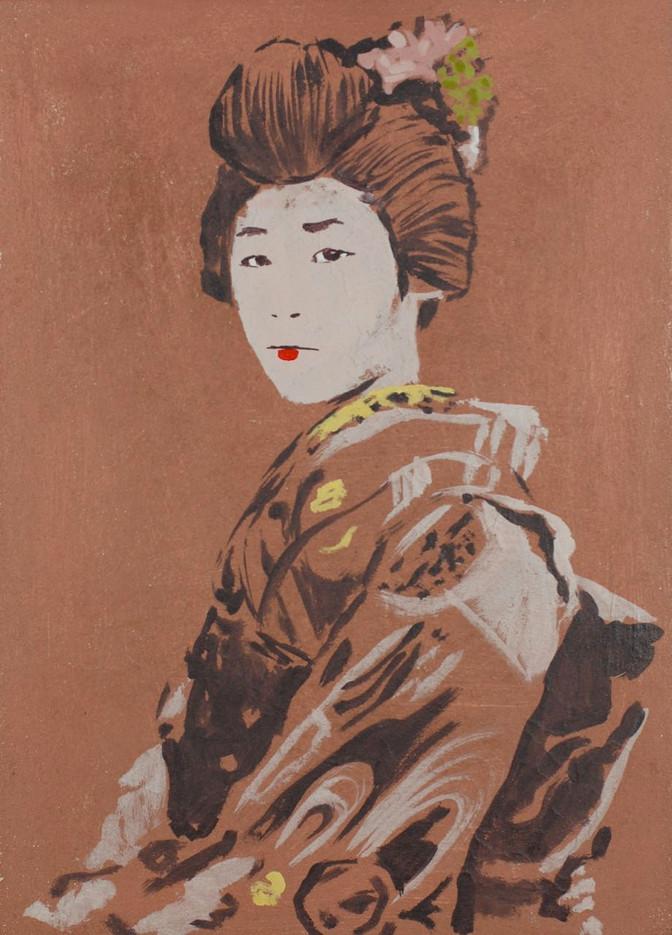 Portrait of a Geisha I