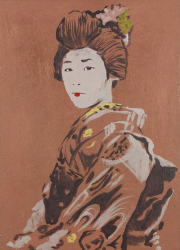 Portrait of a Geisha I