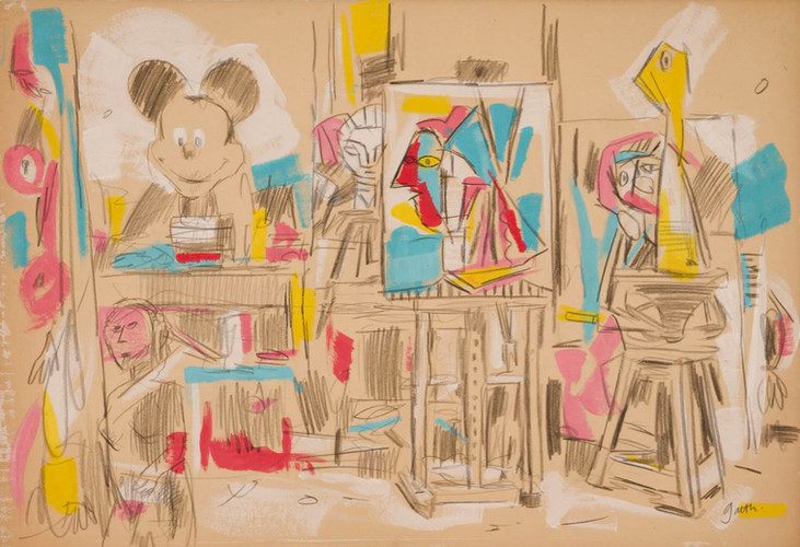 The Artist's Studio II