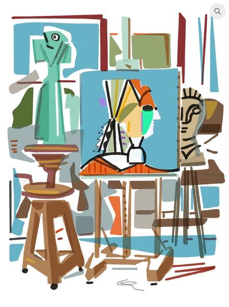 L'atelier d'artiste